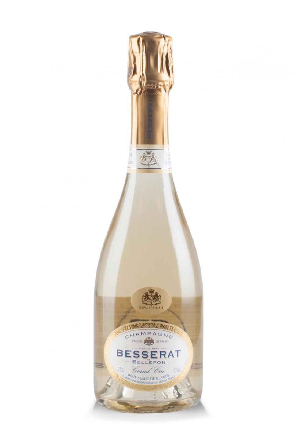 Champagne Besserat de Bellefon, Cuvée des Moines, Brut Blanc de Blancs (0.375L)