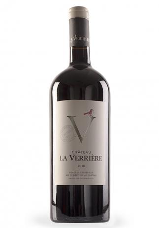 Vin Château La Verrière, Bordeaux Supérieur Magnum 2016 (1.5L) (3540, VIN ROSU SEC BORDEAUX)