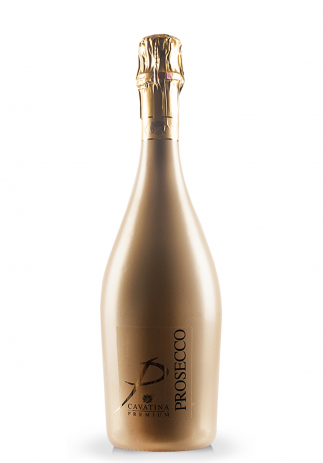 Prosecco Cavatina Premium, Sparkling Gold bottle (0.75L) Image
