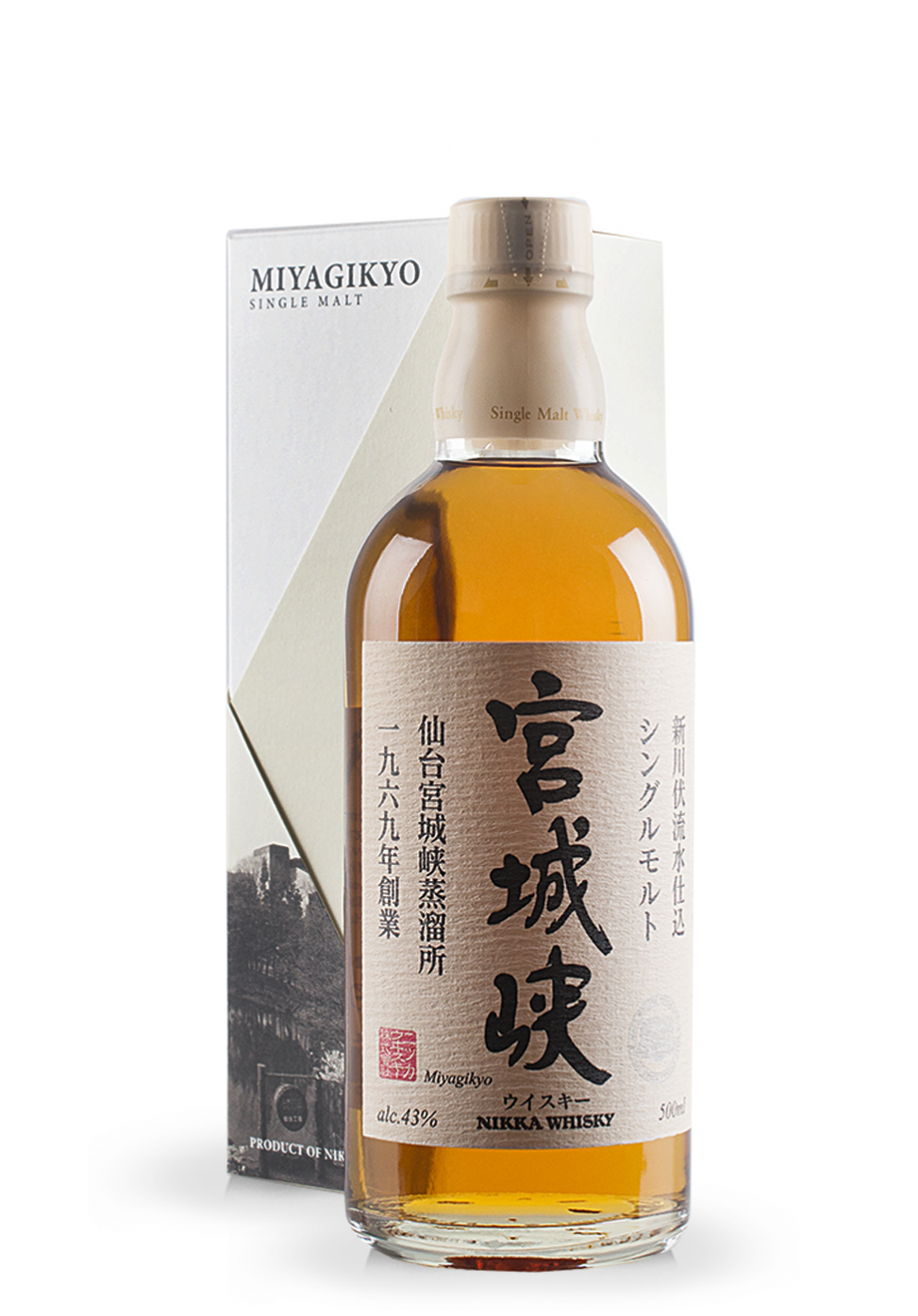 Whisky Nikka, Miyagikyo Single Malt Non Age (0.7L)
