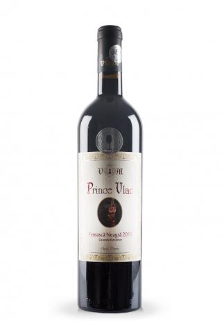 Vin Domeniile Vinju Mare, Prince Vlad Grande Reserve, Feteasca Neagra 2013 (0.75L) (2419, VIN ROSU SEC VANJU MARE)