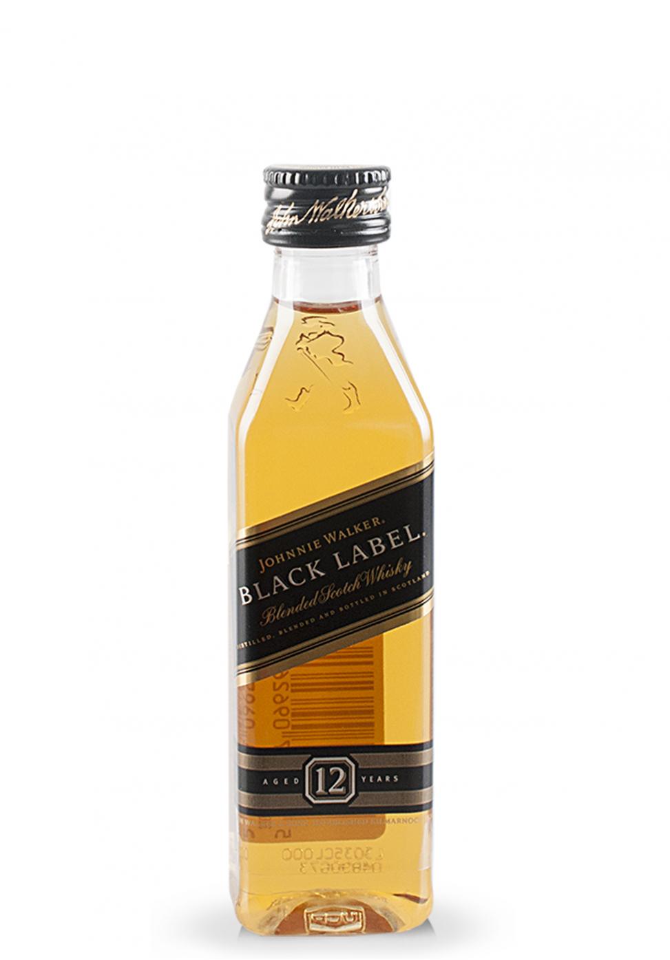 Whisky Johnnie Walker Black Label (0.05L)