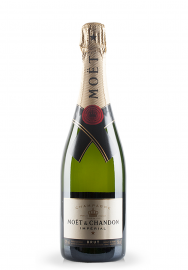 Champagne Moet & Chandon, Imperial Brut + Cutie cadou (0.75L)