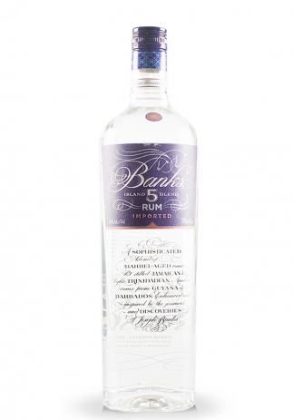 Rom Banks, 5 Island Rum Imported (0.7L) (838, ROM UNIC MIX COCKTAILS)