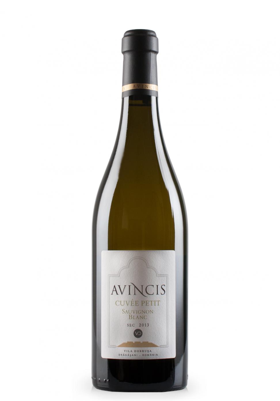 Vin Avincis Vila Dobrusa, Cuvée Petit, Sauvignon Blanc, 2013 (0.75L)