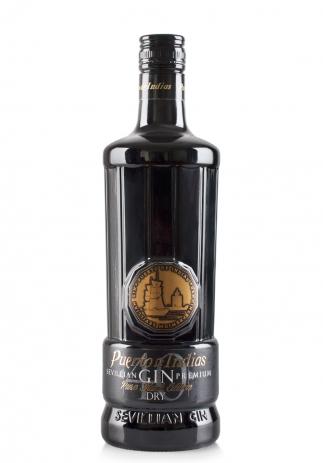 Gin Puerto de Indias Black Edition (0.7L) Image