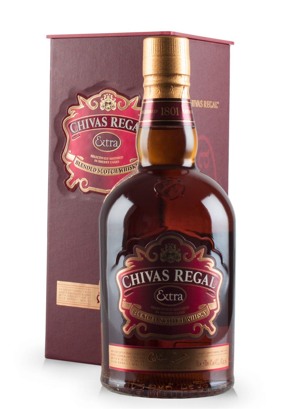 Whisky Chivas Regal Extra, Selectively matured in sherry casks (0.7L)