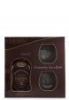 Set cadou Whisky Cardhu, Single Malt Scotch, 12 ani (0.7L) + 2 pahare