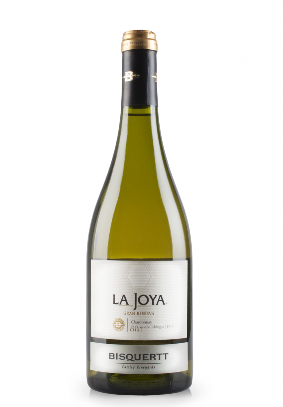 Vin Bisquertt, La Joya Chardonnay Gran Reserva 2015 (0.75L)