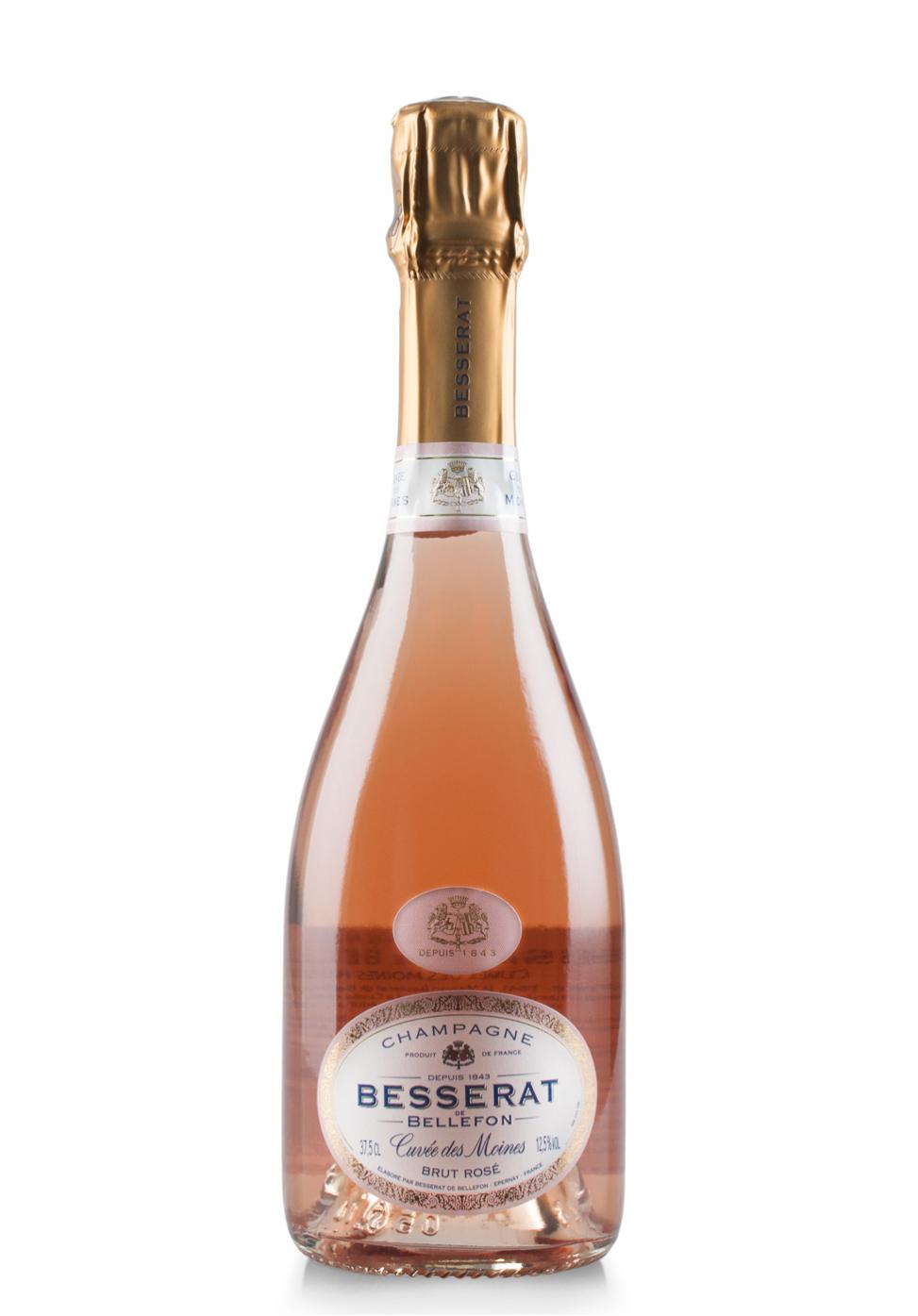 Champagne Besserat de Bellefon, Cuvée des Moines, Brut Rosé (0.375L)