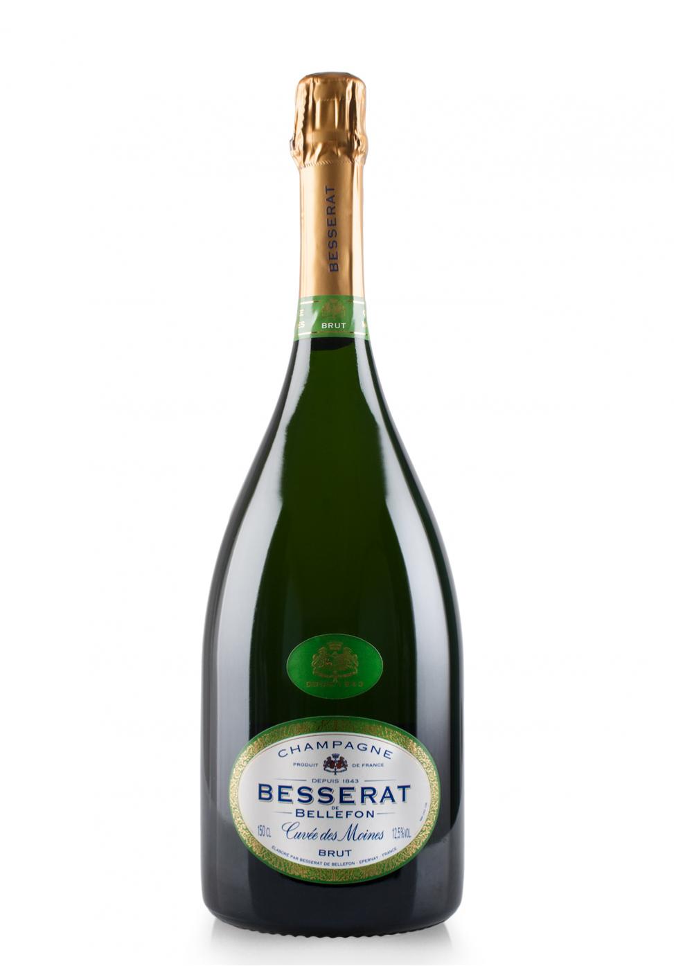 Champagne Besserat de Bellefon, Cuvée des Moines, Brut (1.5L)