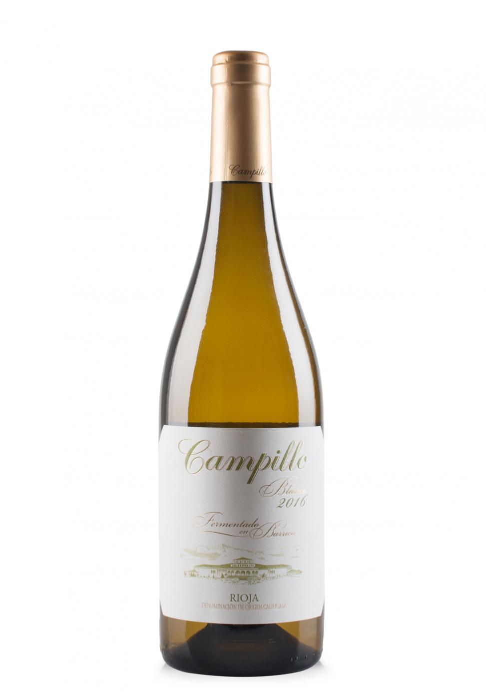 Vin Campillo Blanco DOC Rioja, Barrel Fermented 2016 (0.75L)