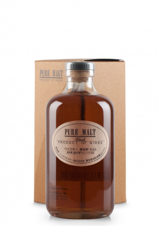 Whisky Nikka Pure Malt Black (0.5L) (3384, WHISKY PURE MALT JAPONIA)