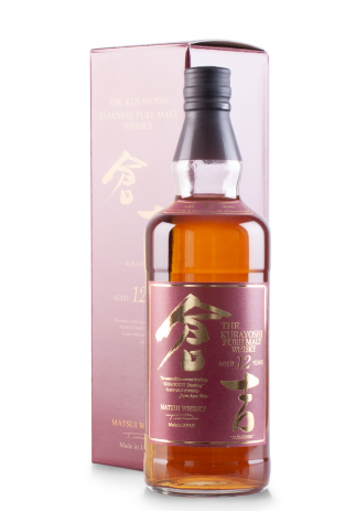 Whisky The Kurayoshi Pure Malt 12 ani (0.7L)