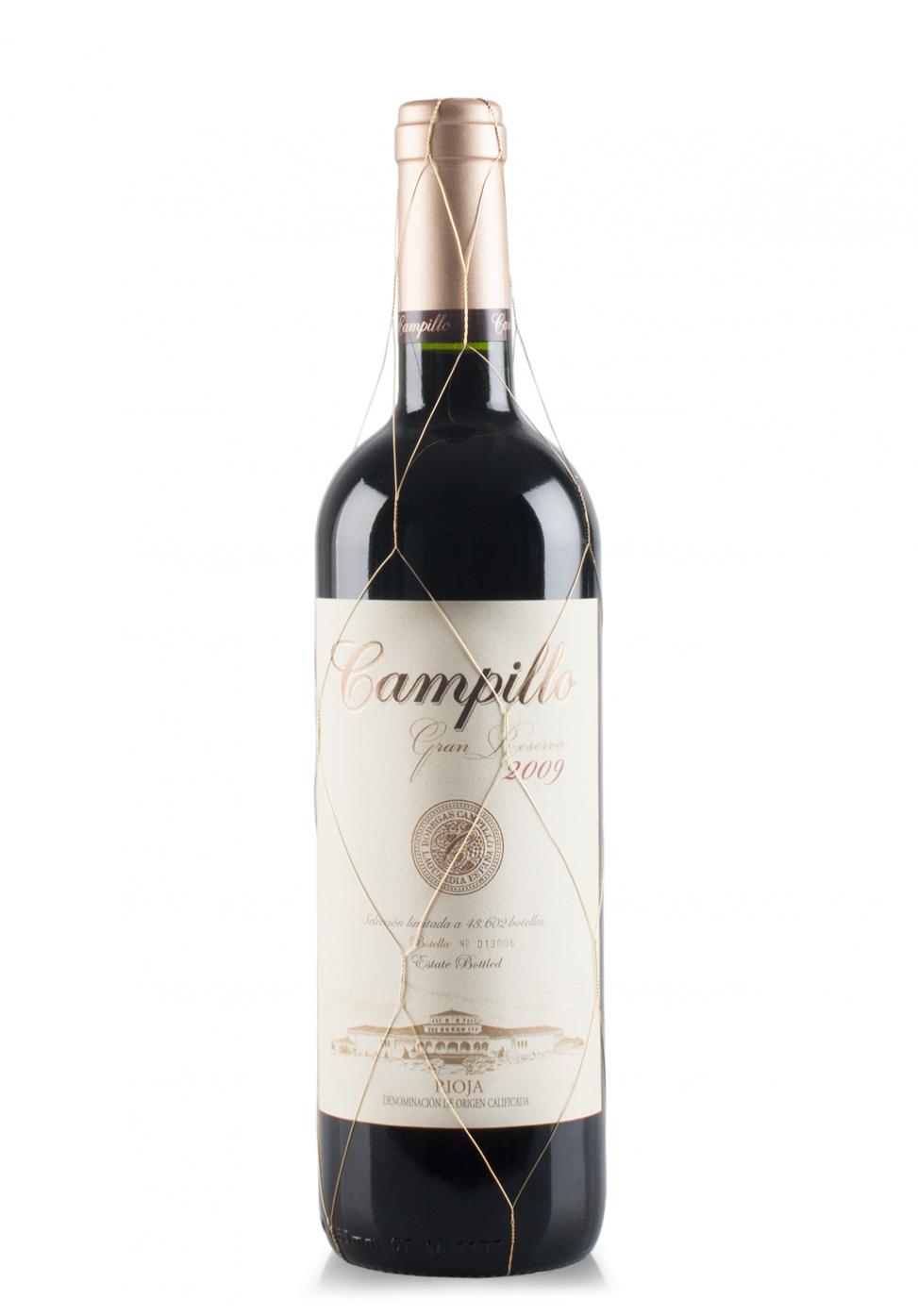 Vin Campillo, DOCa Rioja, Gran Reserva 2009 (0.75L)