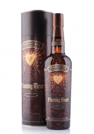 Whisky Compass Box Flaming Heart (0.7L) Image