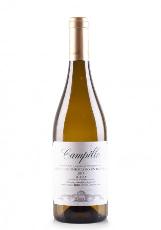 Vin Campillo Blanco DOC Rioja, Barrel Fermented 2017 (0.75L) (2522, CAMPILLO RIOJA)
