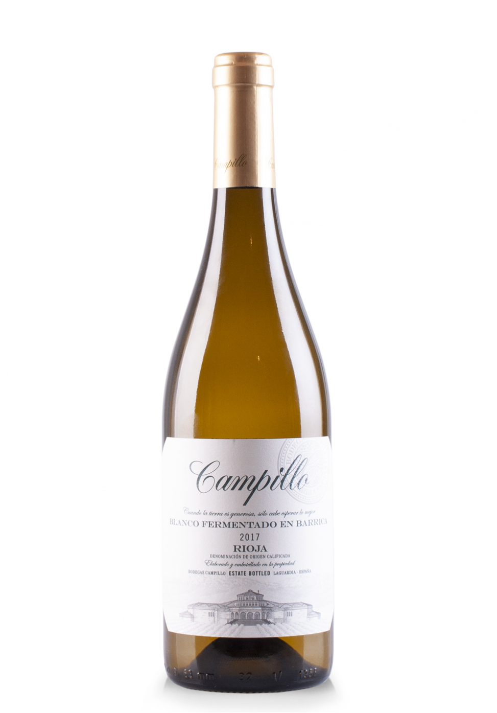 Vin Campillo Blanco DOC Rioja, Barrel Fermented 2017 (0.75L)