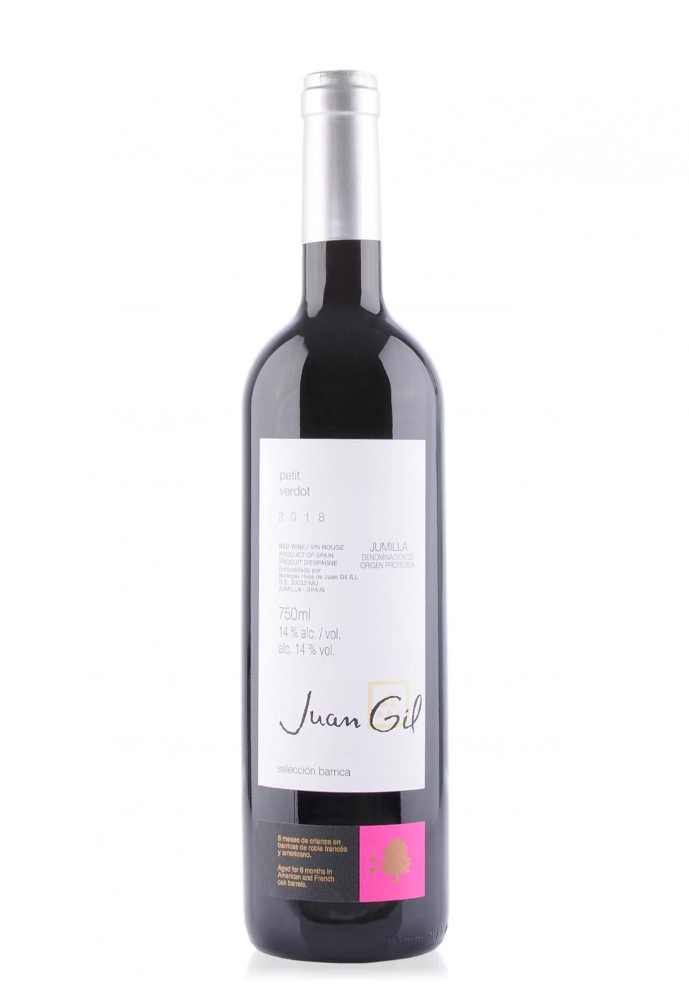 Vin Bodegas Juan Gil, Petit Verdot, Jumilla, 2018 (0.75 L)
