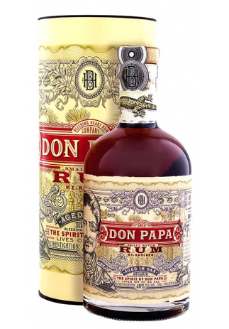 Rom Don Papa, Distilled in Oak + GB (0.7L) (3557, ROM FILIPINE)
