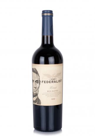 Vin The Federalist, Honest Red Blend 2018 (0.75L) (3709, FEDERALIST CALIFORNIA)