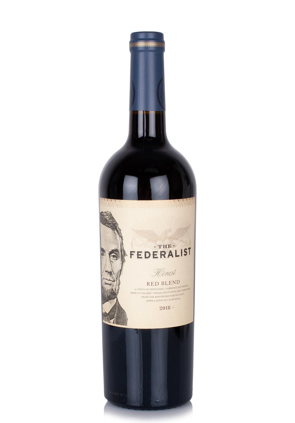 Vin The Federalist, Honest Red Blend 2018 (0.75L)