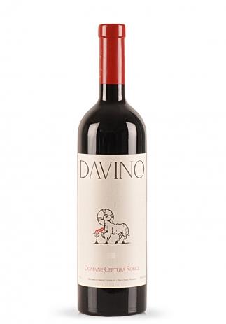 Vin Davino, Ceptura Rosu 2015 (0.75L) (4109, VIN ROSU SEC DEALU MARE)