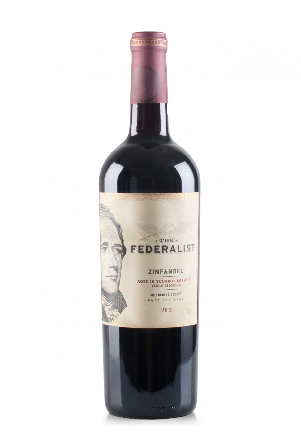 Vin The Federalist Lodi Zinfandel 2019 (0.75L)